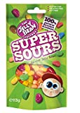 The Jelly Bean Factory Super Sours Cocktail 113 g Stehbeutel – 6er Pack | Gourmet Jelly Beans