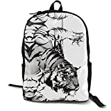 Mochila para ordenador portátil, mochila de viaje, informal, para camping, bolsa de hombro, para adolescentes, hombres, mujeres