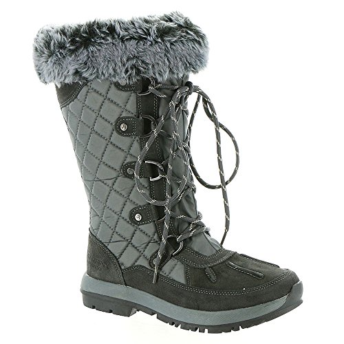 Bearpaw Quinevere Charcoal Womens Winter Boot Size 7M