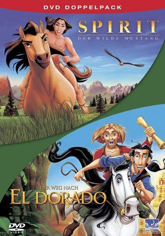 Spirit, der wilde Mustang / Der Weg nach El Dorado [2 DVDs]