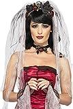 Smiffy's 23343 Gothic-Braut-Kostüm-Kit, Einheitsgröße