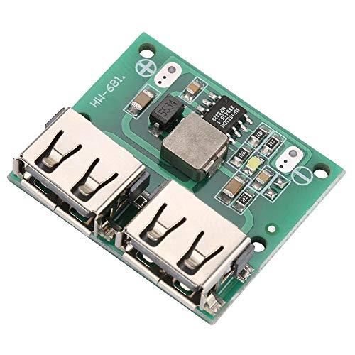 USB DC-DC-Spannungs-Buck-Regler Power Lademodul Ausgang 9V / 12V / 24V bis 5V Dual USB-Ausgangs-Buck-Spannungsplatine 3A Autoladeregler DIY USB-Netzteilmodul