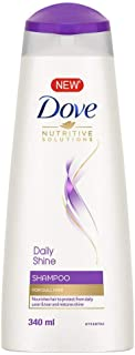 Dove Daily Shine Shampoo, 340ml