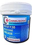 Carbusonic Pure grasa de silicona 500mm, o de lubricación, goma, látex seguro.