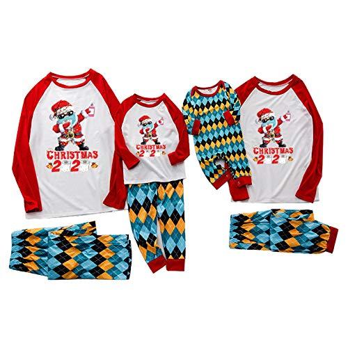 Dasongff Weihnachten Schlafanzug Damen Herren Kinder Family Pyjamas Outfits...