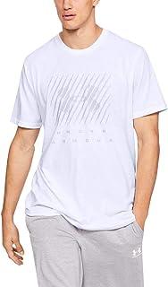 Under Armour Men's Ua Branded Big Logo Short Sleeve Comfortable Fitness Clothing