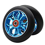 Z-FIRST 2PCS 110mm Pro Scooter Wheels with ABEC 9 Bearings Fit for...