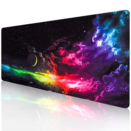 Computer Keyboard Mouse Mat , Gaming Mouse Pad , Extended Mouse Pad, Desk Mat for Gamer, Office &...