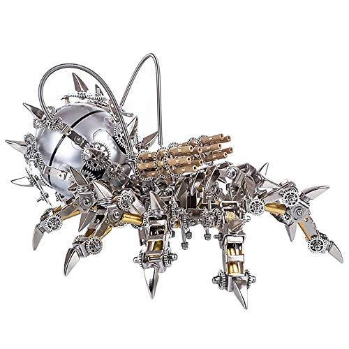 Khosd 3D Metal Puzzle Tarántulas Model Kit, Modelo 3D de Ensamblar Maqueta Metal 3D -Kit Maquetas para Construir Adultos/Adolescente, Tarántulas Mecánico - 30x25x15cm