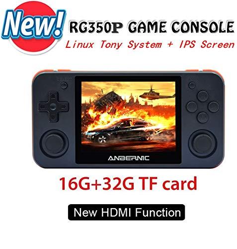 Consolas de Juegos Portátil , RG350P Consola de Juegos