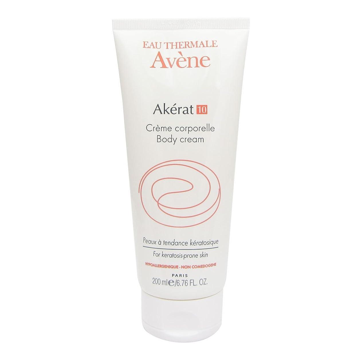 ケーブル群衆正気Avene Akerat 10 Body Cream 200ml [並行輸入品]