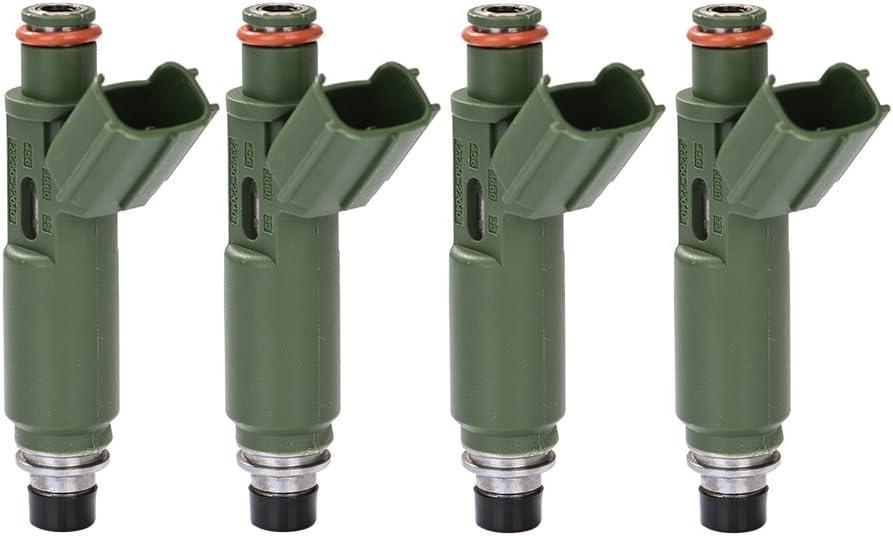 Catinbow Atlanta Mall 23250-22040 depot 4PCS Engine Fuel for Chevy Set Injector Pri