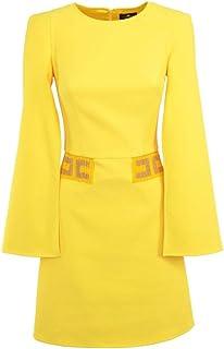 Elisabetta Franchi Luxury Fashion Donna AB17801E2110 Nero Poliestere Vestito Primavera-Estate 20