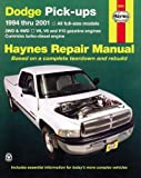 Haynes Dodge Pickups 1994-2002