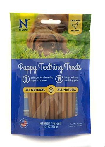 N-Bone Puppy Teething Treat 3.74 oz Size:Pack_of_2