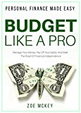 Budget Like A Pro: Manage Your Money, Pay Off Your Debts, And Walk The Road Of Financial Independence - Personal Finance Made Easy (Financial Freedom Book 2)