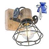★ Contenuto della confezione: 1 lampada, senza lampadina + ★★ gratis cristallo pernello 38 mm in sacchetto regalo ★★