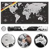 Pustalon Weltkarte Zum Rubbeln Deutsch - FSC®-Zertifiziert