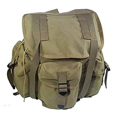 WW2 WWII US Military M14 Haversack Field Bag Backpack Canvas