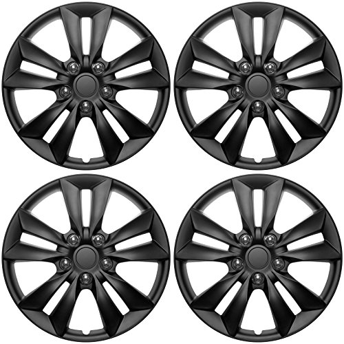 16inch black hubcaps - 5