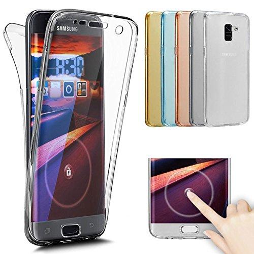 Bling Glitter Diamonds Shock-Absorption Ultra Slim Transparent Silicone Cover per Samsung Galaxy S6 Edge-Oro Rosa SainCat Custodia Galaxy S6 Edge