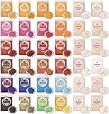 DEWEL Mica Powder 5g*36 Colori Pigmenti in Polvere per Slime, Resina Epossidica, Candele, Acquerello, Cosmetici