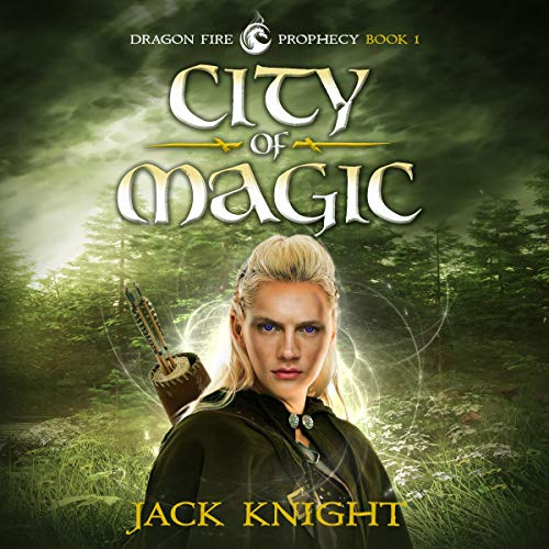 City of Magic audiobook cover art