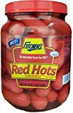 Fischer's Red Hots Sausage 40oz Jar