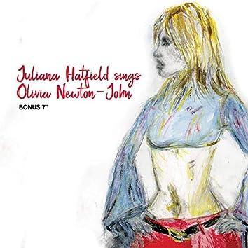 Juliana Hatfield Sings Olivia Newton-John - Bonus Single