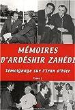 Mémoires d'Ardeshir Zahedi