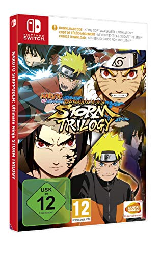 Naruto Ultimate Ninja Storm Trilogy (Code in a Box) - [Nintendo Switch]