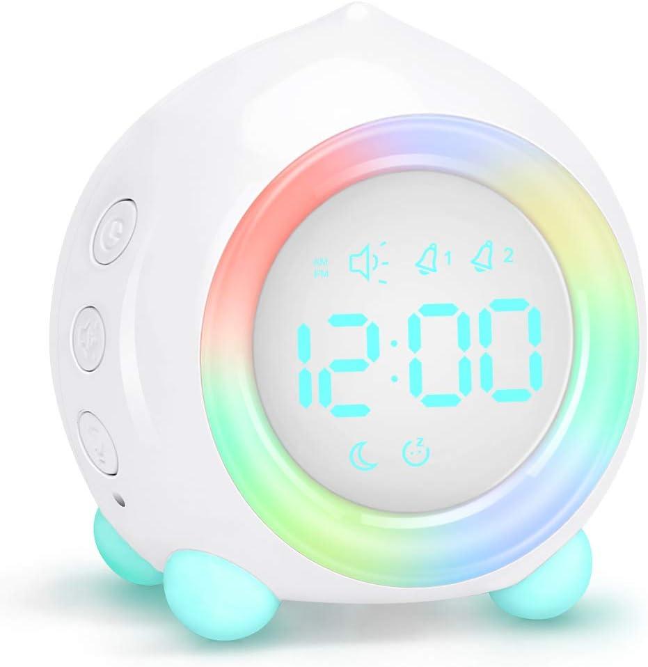 Fresno Mall Allnice Digital Brand new Alarm Clock LED Bedside Dual