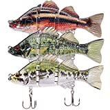 TRUSCEND Fishing Lures 6.8'' Metal Joint Swimbaits Hard Lure baits