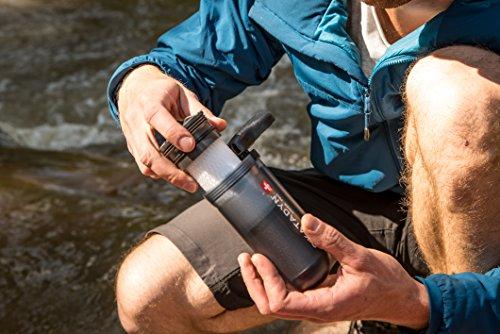 Mikrofilter zum Campen
