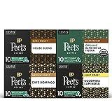 Peet's Coffee Dark, Medium, & Light Roast Variety Pack K-Cup Coffee Pods for Keurig Brewers, Variety Pack, 40 Pods