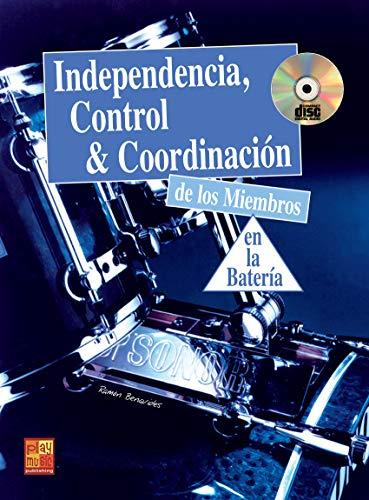 Independencia, control y coordinación en la batería - 1 Libro + 1 CD