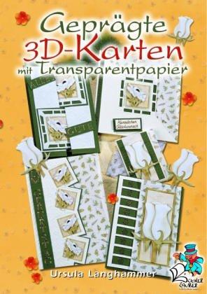 Geprägte 3D-Karten mit Transparentpapier