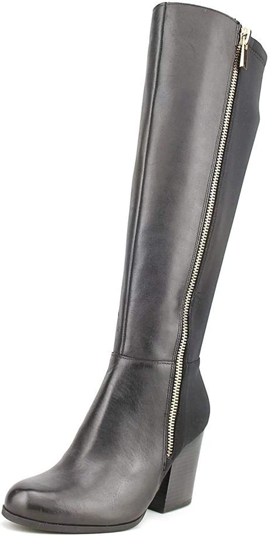 Giani Bernini Frauen Frauen Rozario Pumps rund Leder Fashion Stiefel Schwarz Groesse 9 US  40 EU  garantiert