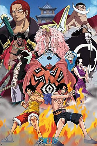 1art1 One Piece - Marine Ford Poster 91 x 61 cm