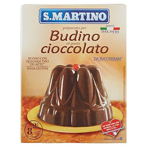 S.Martino Budino Cioccolato, senza Glutine - Astuccio da 96 gr