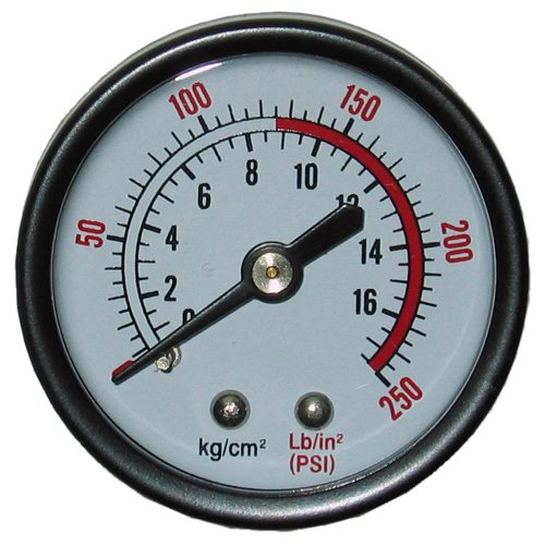 Powermate 032-0120RP Pressure Gauge, full size