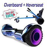 COLORWAY Overboard Hover Scooter Board Gyropode Bluetooth SUV 6.5 Pouces, Scooter...
