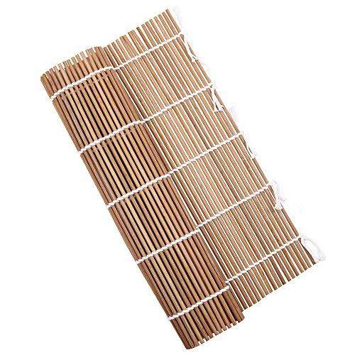 竹製 すし 巻きす 24x24cm 抗菌 寿司巻 太口 竹巻す グリーン 巻きすだれ 巻き寿司作りに 巻き寿 グルメ キャンプ 炭化
