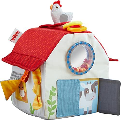 HABA 306383 - Spielzeug auf Bauernhof, 6...