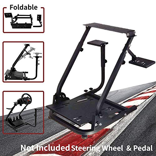 Wilk Wheel Stand G920 Racing Wheel Stand Pro for Logitech G25 G27 G29 G920 Racing Wheel Shifter and Pedals NOT Included (Bend)