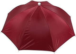 red umbrella hat