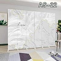6パネルファッションの背の高い木製のセパレーター、装飾的なキャンバスルームのセパレーター、装飾的なデザインの折りたたみスクリーンの壁部屋の仕切りの装飾的な部屋の仕切り