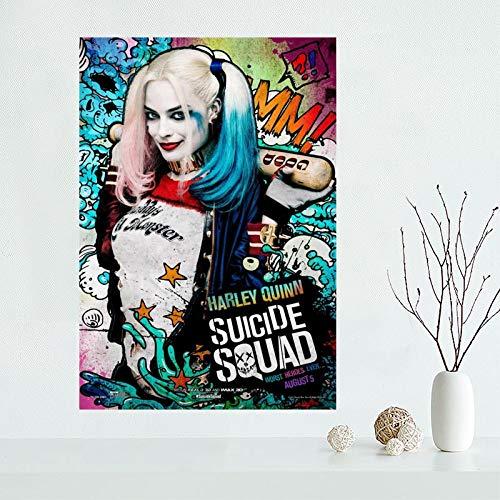 AQgyuh Puzzle 1000 Piezas Personajes de la película Harley Quinn Puzzle 1000 Piezas clementoni Rompecabezas de Juguete de descompresión intelectual50x75cm(20x30inch)