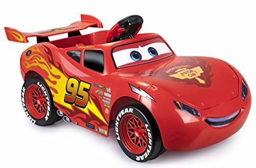 FEBER- Cars The Movie Macchinina elettrica, acceleratore a Pedale, Freno Motore, velocità Massima 2,2 Km/h, 800011146