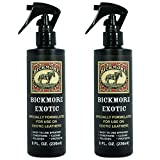 Bickmore Exotic 8oz (2-Pack) - Specially Formulated Leather Spray Used to Clean Condition Polish and Protect Exotic Leathers & Reptile Skins